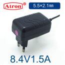 8.4V 리튬이온 배터리 충전기 8.4V1.5A 충전기5.5X2.1