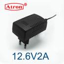 12.6V2A 리튬이온 배터리 충전기 12.6V2A 충전기 벽부