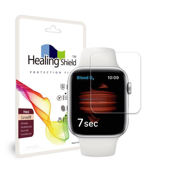 애플워치6 44mm 프라임 고광택 액정보호필름 2매