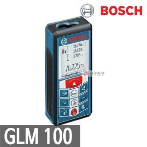 보쉬 GLM100 거리측정기 레이저 100M 면적/연속