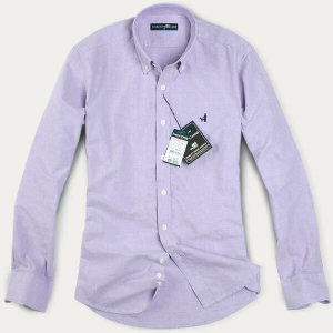 (현대Hmall) FOREST CAMP Custom-Fit Solid Oxford/옥스포드 긴팔 남방 YO2350-Violet