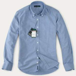 (현대Hmall) FOREST CAMP High Quality Oxford Cotton Shirts /옥스포드 긴팔 남방 YO6350-Royal