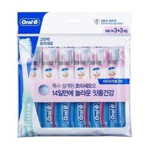 오랄비 초미세모 잇몸전문(3+3)
