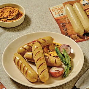 (전남생협)맛닭 닭가슴살 소세지 오리지널맛 1팩 120g