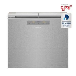 공식판매 21년형 딤채 뚜껑형 김치냉장고 EDL18EFWRSS (174L)