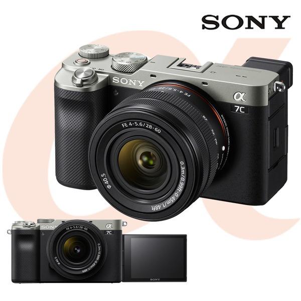 소니 알파 A7C (본체+SEL2860 렌즈)/실버/공식대리점