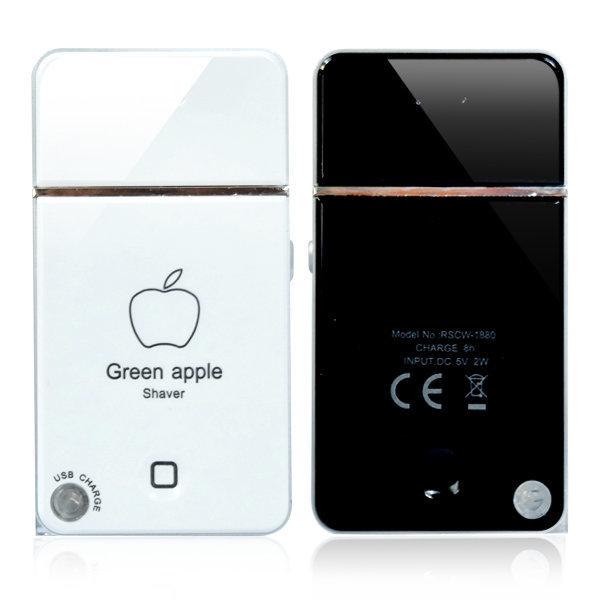 휴대용 전동면도기 면도_USB충전식 전기면도기-화이트