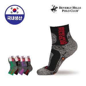 여자/여성/양말/스포츠/등산 폴로클럽 기능성쿠션 단목