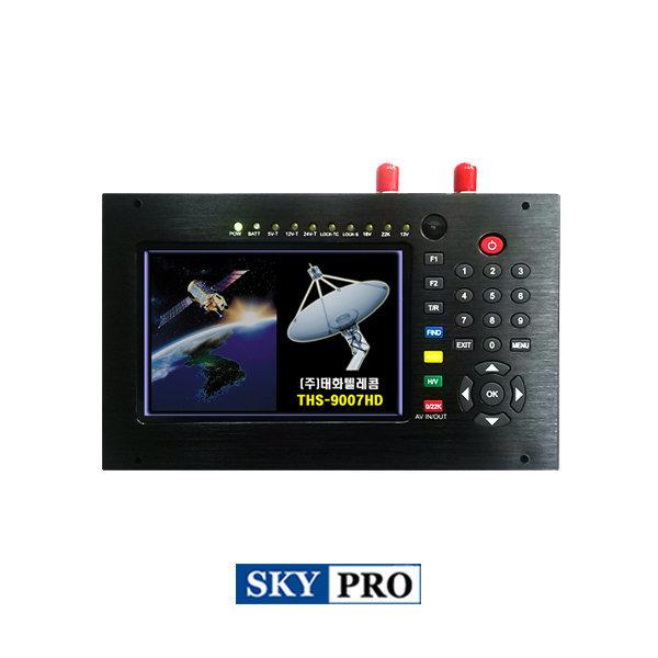 THS-9007HD 디지털 위성계측기 국내위성 해외위성 HD