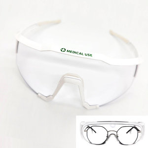 국산 의료용 보안경 위생용 보호 안경 방역 안티포그
