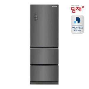 공식판매 21년형 스탠드 김치냉장고 EDT33EFRZKT (330L)/ 딤채