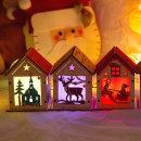 민화샵 크리스마스무드등 1개 : 썰매산타 /조명등