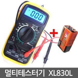 XL830L 멀티테스터기 멀티메타 전압 전류 저항측정기