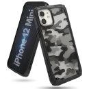 아이폰12 미니 케이스 링케퓨전X 카모블랙