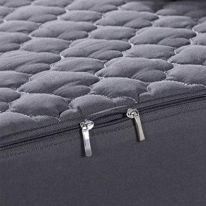 침대매트리스커버 지퍼형커버 베이지150x200cm+20cm