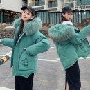 여성 패딩 따뜻한 점퍼 겨울 캐주얼 퍼후드 mbi14