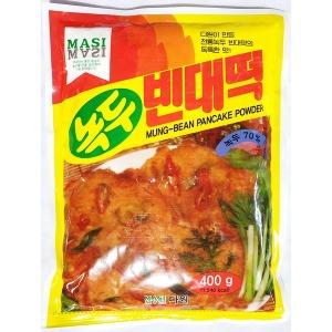 녹두빈대떡가루(다원 400g)/업소용/식자재/업소/빈대