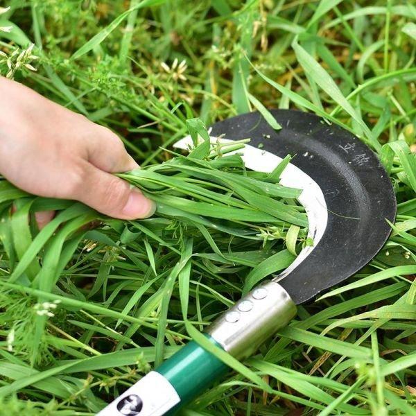 농업용 원예공구 제초용 긴 손잡이 장대낫