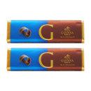 2개 GODIVA 밀크 초콜릿 초코바 43 g