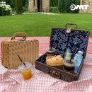 OMT 라탄 캠핑 피크닉 수납 바구니 가방 OKA-Y26 소형