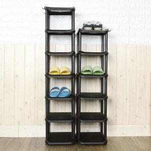 클래식 현관 신발장 신발정리대 신발보관함 5단