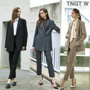 TNGT W  20FW 여성 릴렉스 수트셋업 3종 (가을셋업 / 정장셋업 / 수트셋업 / 블라우스)