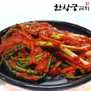 100% 국산 골 파김치 500g 매콤달콤 알싸한 맛