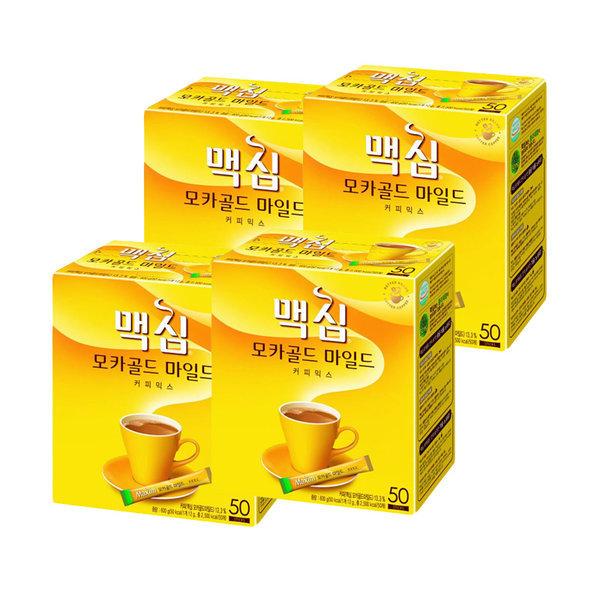 맥심 모카골드 커피믹스 200T(50Tx4개)