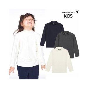 갤러리아  웨스트우드 키즈 기본 터틀넥 티셔츠 (WJ4KCTR497)
