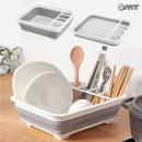 OMT 접이식 휴대용 캠핑 멀티 식기건조대 OKA-DS69
