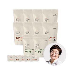 (천연조미료/육수한알) 빅마마 이혜정의 시크릿코인200개 개별포장 18가지 자연재료