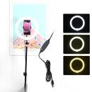 10인치 유튜브 개인 1인방송 LED 링라이트 원형 조명