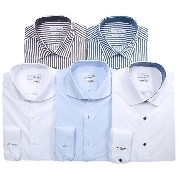 듀퐁-남성셔츠  듀퐁셔츠 긴소매 슬림핏 10종택1