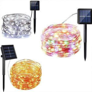 태양광 LED 와이어 트리 등 은하수 램프 조명 정원등