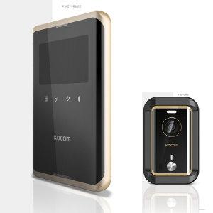 kocom/R431/컬러/비디오폰/초인종/도어락/인터폰/무선