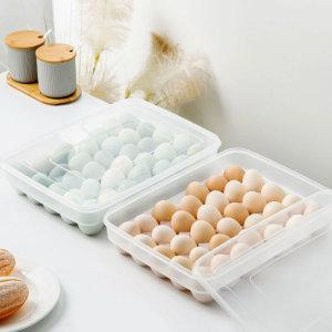 달걀 계란 에그 수납 정리 트레이 보관함 케이스 34구