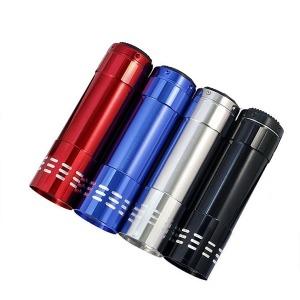 9구 LED UV 라이트 후레쉬-자외선 램프 위폐검사 형광