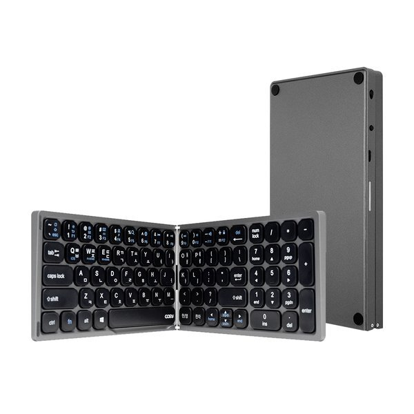 휴대용 접이식 블루투스 키보드 키패드 포함 KB3486BT