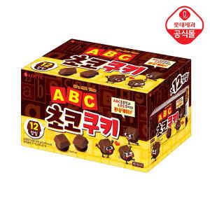 ABC초코쿠키 12입팩 600g