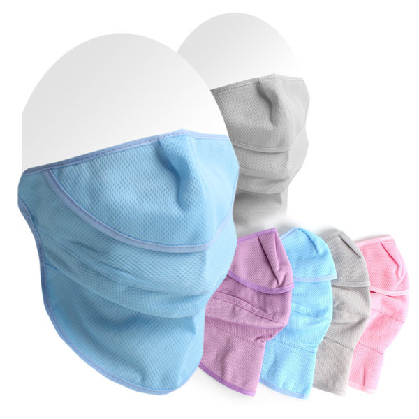 자외선차단마스크 봄가을용 3단 메쉬 패션 면마스크