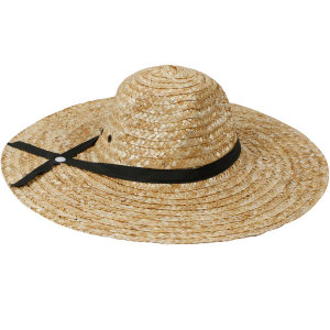 수공예 밀짚모자 CN 남녀공용 왕골 밀집 여름 모자