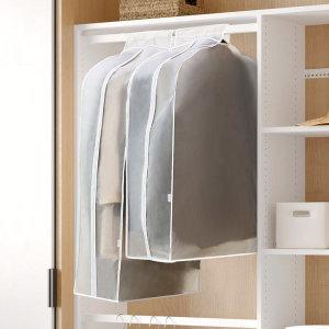 PEVA 와이드 옷커버 중형 (양복용) 1P