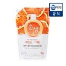 순샘 믹스매치 구연산자몽 리필/친환경1종세제 1.4L