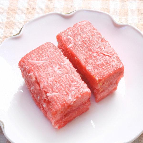 딸기설기(50gX10개) 설기 떡