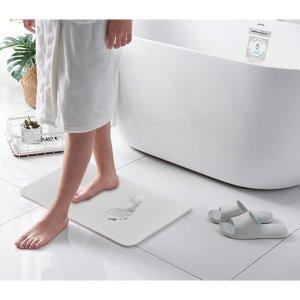 함유량 80% 규조토 발매트 향균 탈취 욕실매트 발판