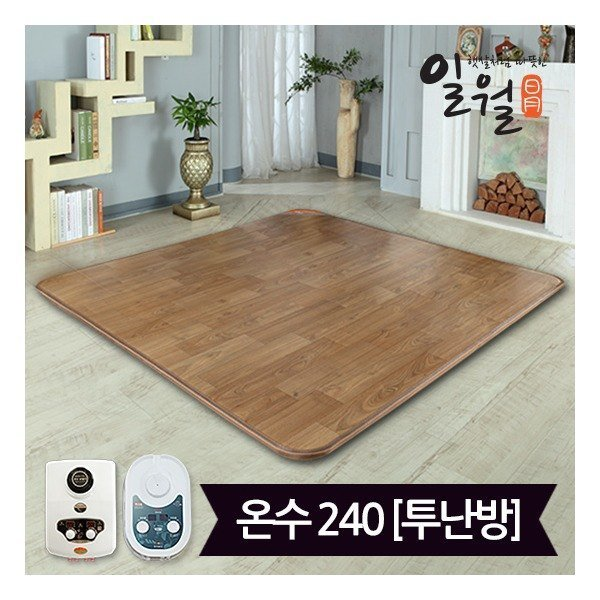 일월매트  일품 프리미엄 온수 카페트 매트(183x240)_디지털(투난방)