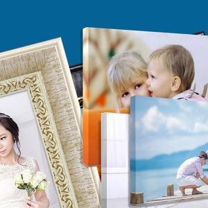 사진인화+사진액자 아크릴 캔버스외39종가족사진 웨딩