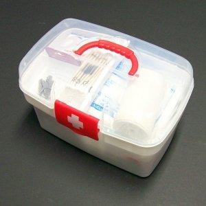 2단 구급함 세트-약상자 응급 구급 가정 상비약 용품
