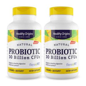 2개 Healthy Origins 300억 유산균 프로바이오틱 150 베지 캡슐 빠른직구
