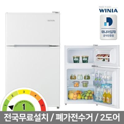 [위니아딤채] 공식인증 딤채 WRT087BW 위니아소형냉장고 87리터